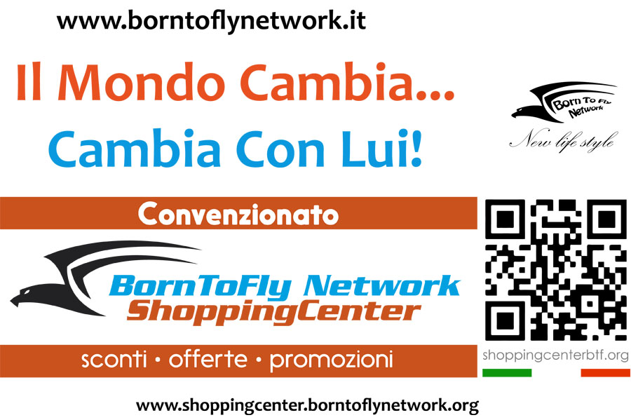 Born To Fly Network - Sponsor Ufficiale Tulipani di Seta Nera 2018